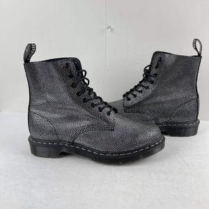 Dr. Martens Pascal Black metallic pebble 10 Boot